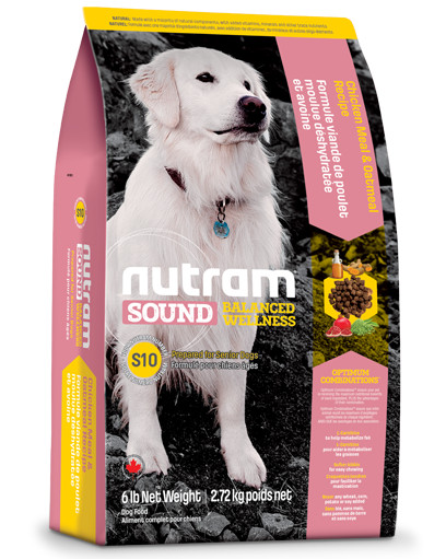 Nutram Sound Balanced Wellness Senior pour chien