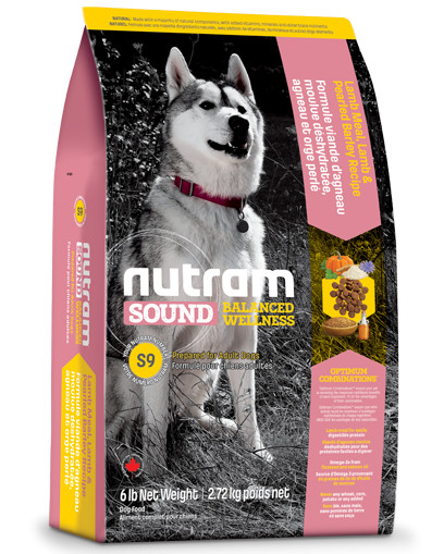 Nutram Sound Balanced Wellness Adult Agneau pour chien