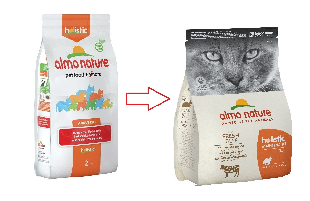 Almo Nature Holistic Chat Adulte Boeuf Riz