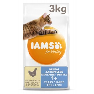Iams For Vitality Adult Dental Kattenvoer