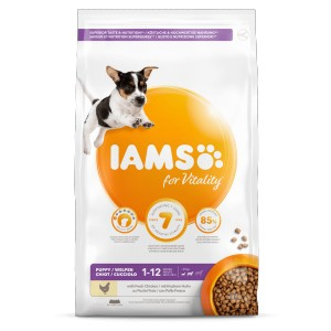 Iams for Vitality Puppy Small & Medium Kip hondenvoer