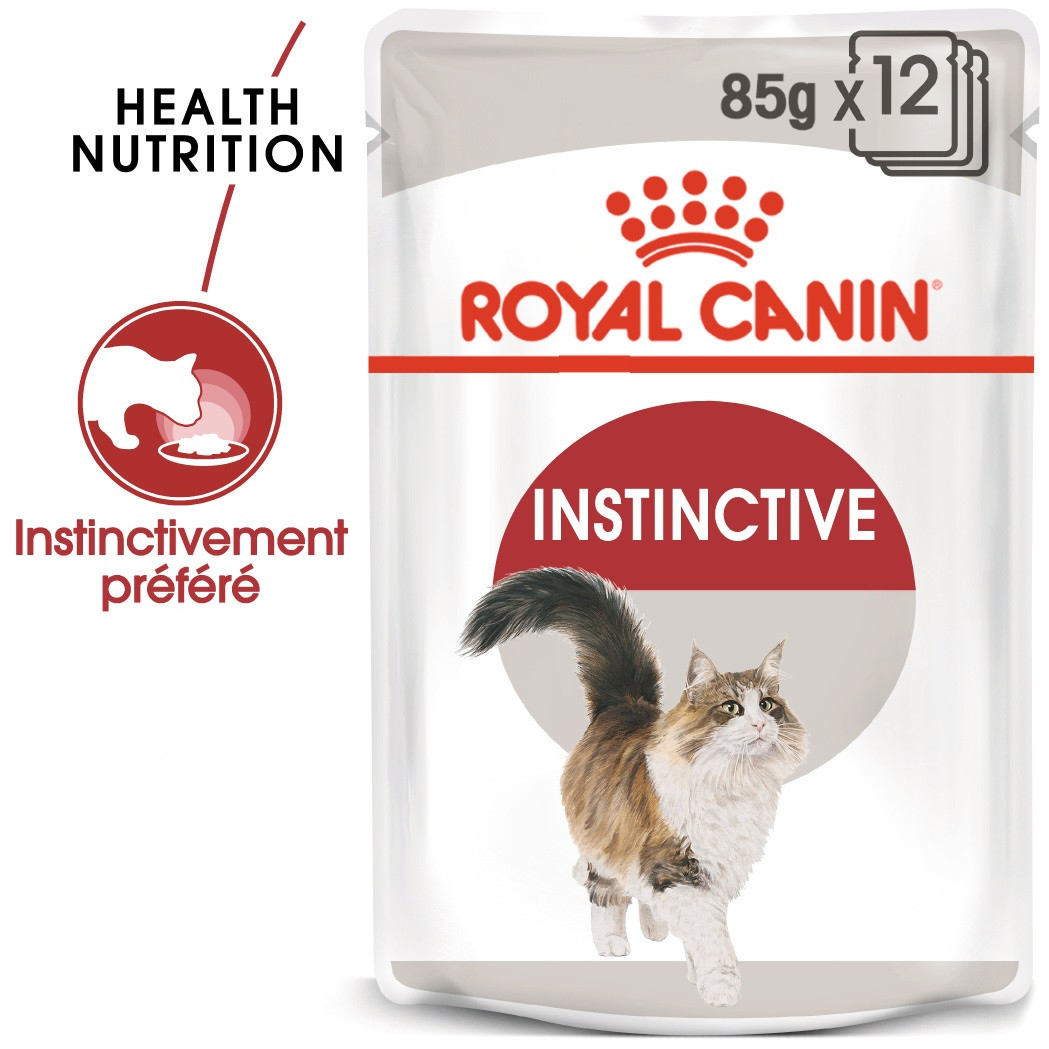 Royal Canin Instinctive Adult pour chat x12