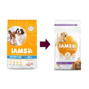 Iams Chiot Puppy & Junior Small & Medium Breed