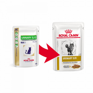 Royal Canin Urinary S/O Moderate Calorie Pouch 85 g kat
