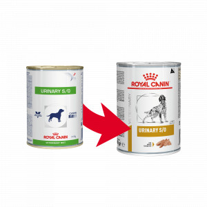 Royal Canin Veterinary Diet Urinary Conserve pour Chien - 410 g