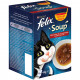 Felix Soup Selection de La Campagne pour Chat (6x48g)
