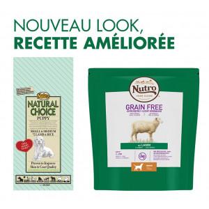 Nutro Choice Chiot Puppy, petite/moyenne race, agneau