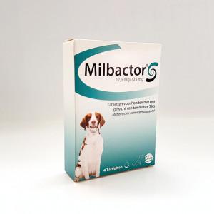 Milbactor Ontwormingsmiddel Grote hond