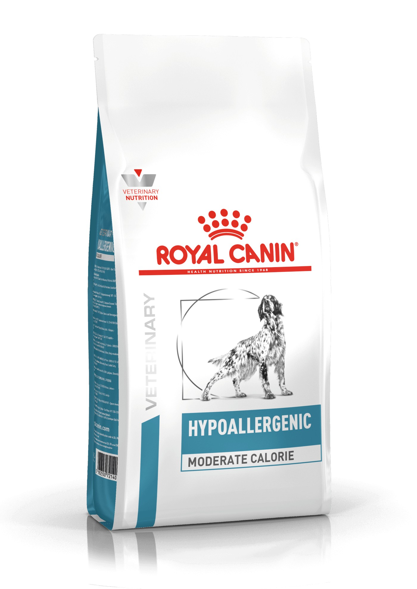 Royal Canin Veterinary Diet Hypoallergenic Moderate Calorie pour Chien