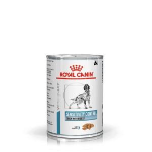 Royal Canin Veterinary Diet Sensitivity Control Conserve Canard et Riz pour Chien