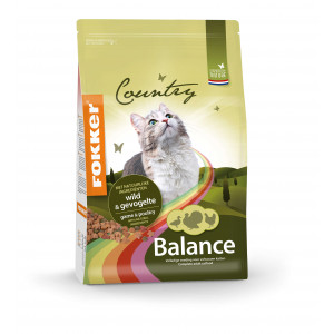 Fokker Country Balance Wild & Volaille pour Chat