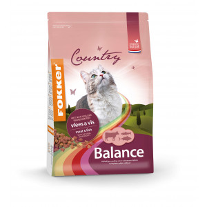 Fokker Country Balance Meat & Fish pour Chat