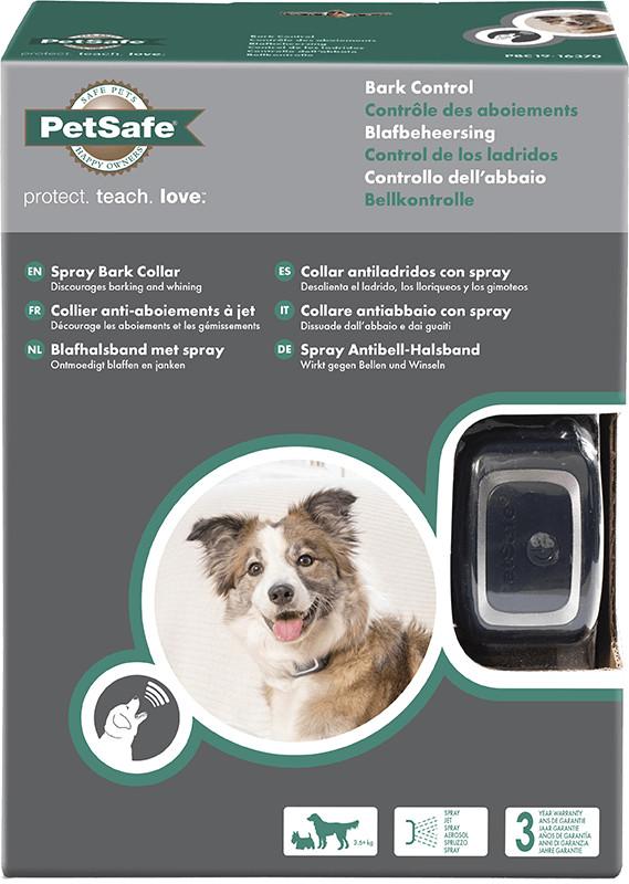 Petsafe antiblafband met spray voor de hond