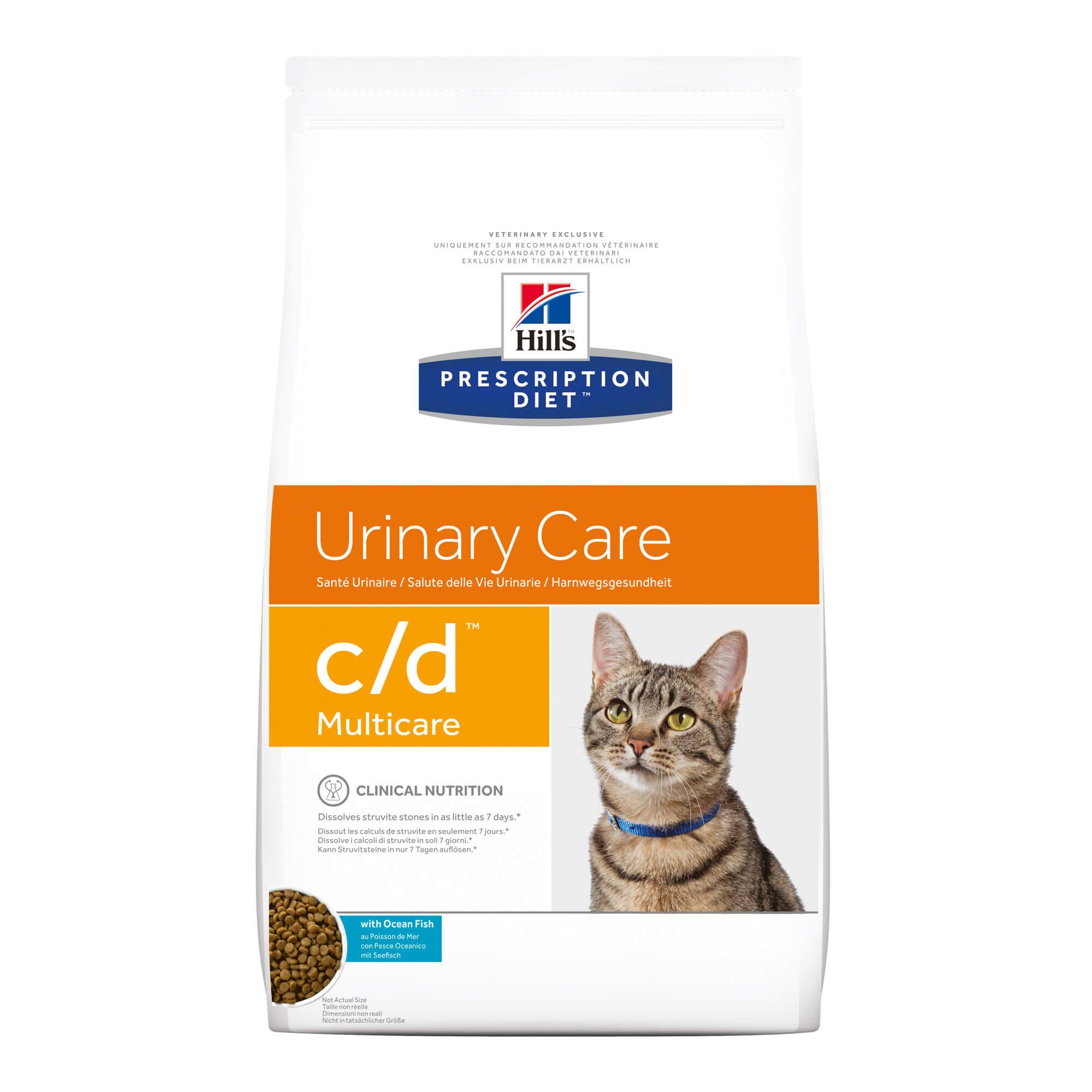 Hill's Prescription C/D Multicare Urinary Care au poisson pour chat