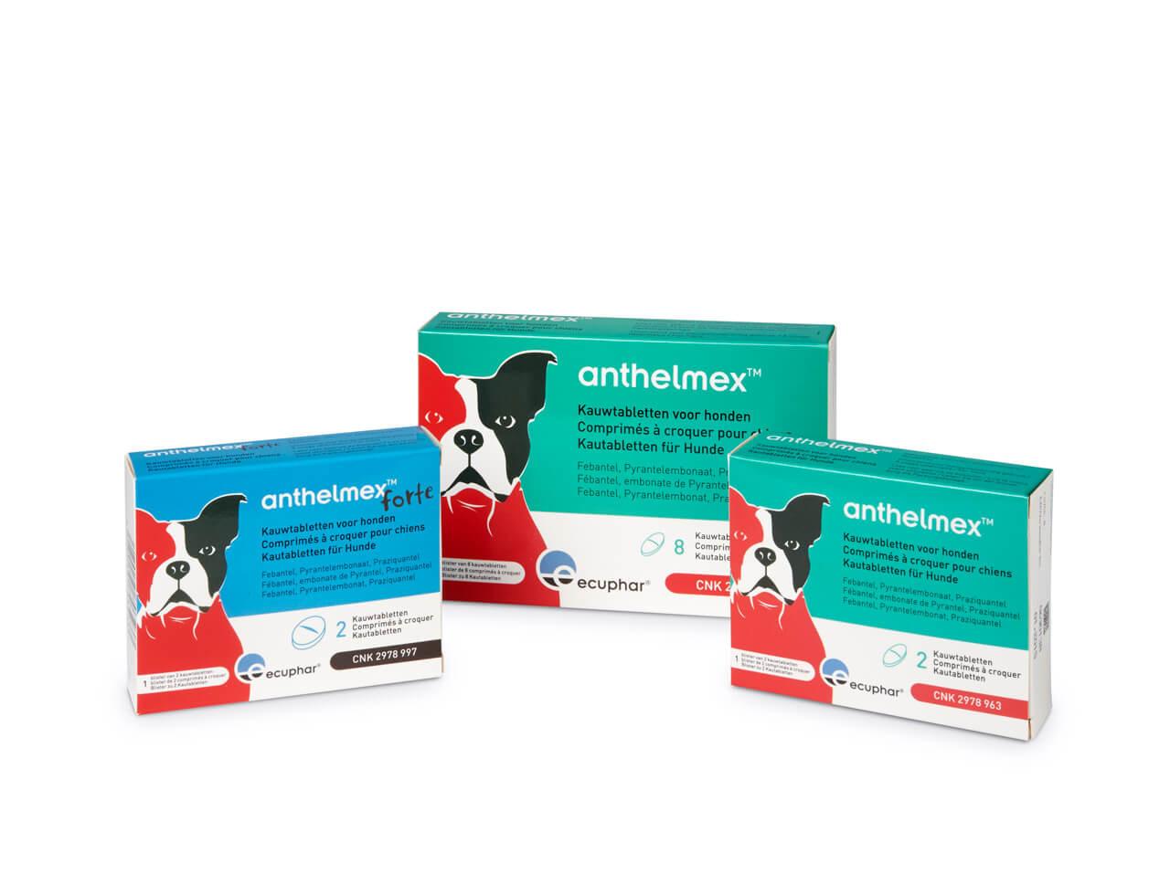 Anthelmex Kauwtabletten voor honden