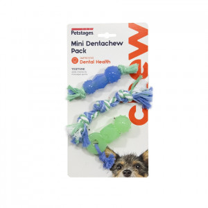 Petstages Mini Dental Chew Pack voor honden