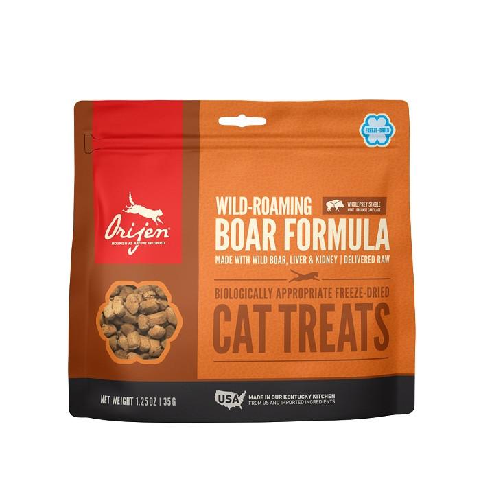 Orijen Wild-Roaming Boar Cat Treats pour chat