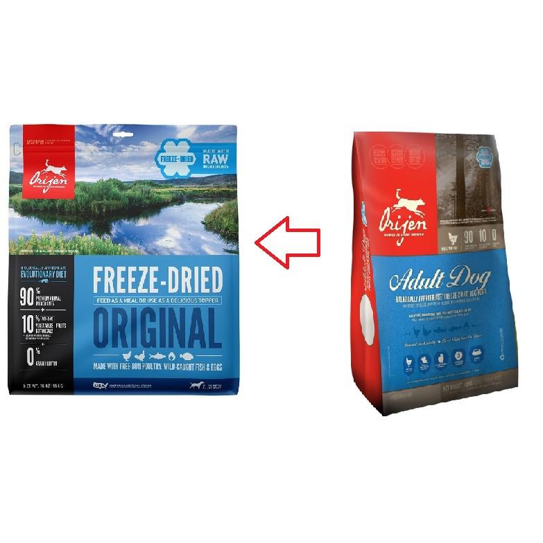 Orijen Freeze-Dried Original pour chien