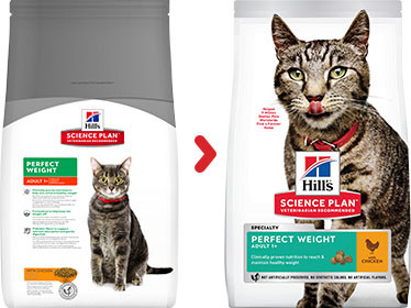 Hill's Adult Perfect Weight Poulet pour chat