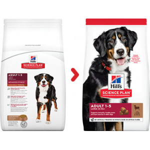 Hill's Advanced Fitness Adulte Large Breed agneau pour chien