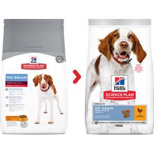 Hill's Adult Sans Céréale au Poulet pour chien