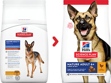 Hill's Mature Adult Large Breed au poulet pour chien