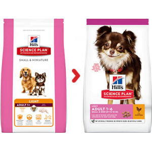 Hill's Adult Small & Miniature Light pour chien