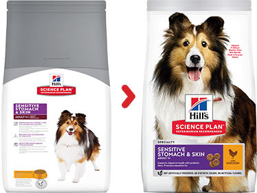 Hill's Sensitive Stomach & Skin Adult Medium poulet pour chien