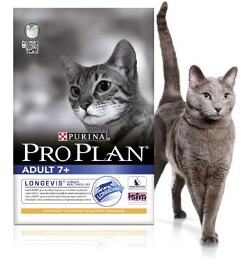 Pro Plan Adult 7+ kattenvoer