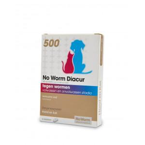 No Worm Diacur 500 voor hond en kat