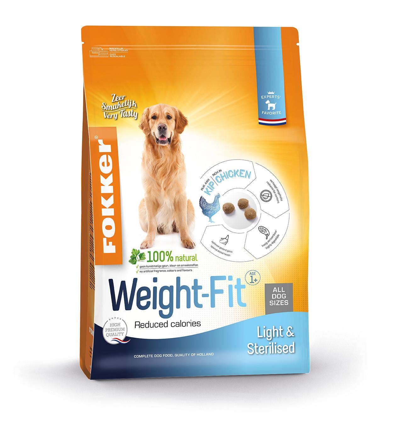 Fokker Dog Weight-Fit hondenvoer