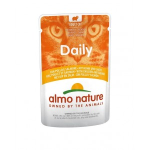 Almo Nature Daily Poulet Saumon 70g
