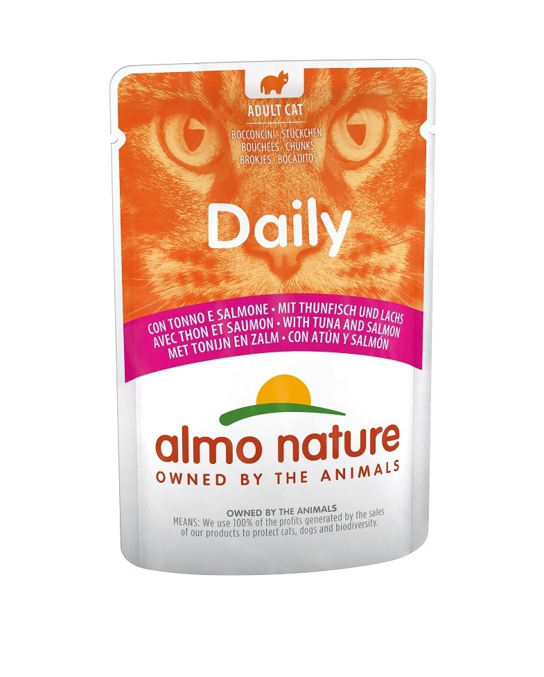 Almo Nature Daily Thon Saumon 70g
