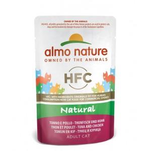 Almo Nature Classic Nature Thon Poulet 55g pour chat