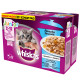 Whiskas Casserole Junior Poisson Selection en gelée 12 x 85 gram