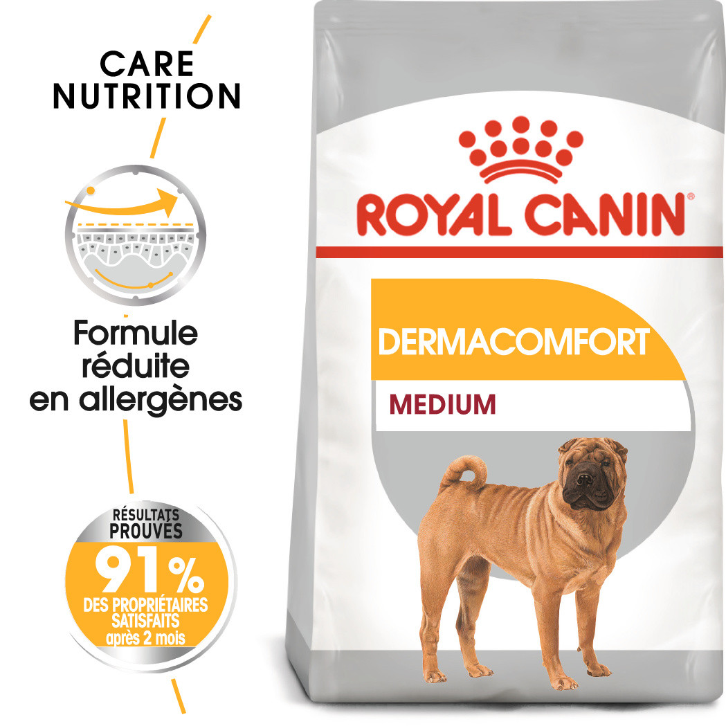 Royal Canin Medium Dermacomfort pour chien