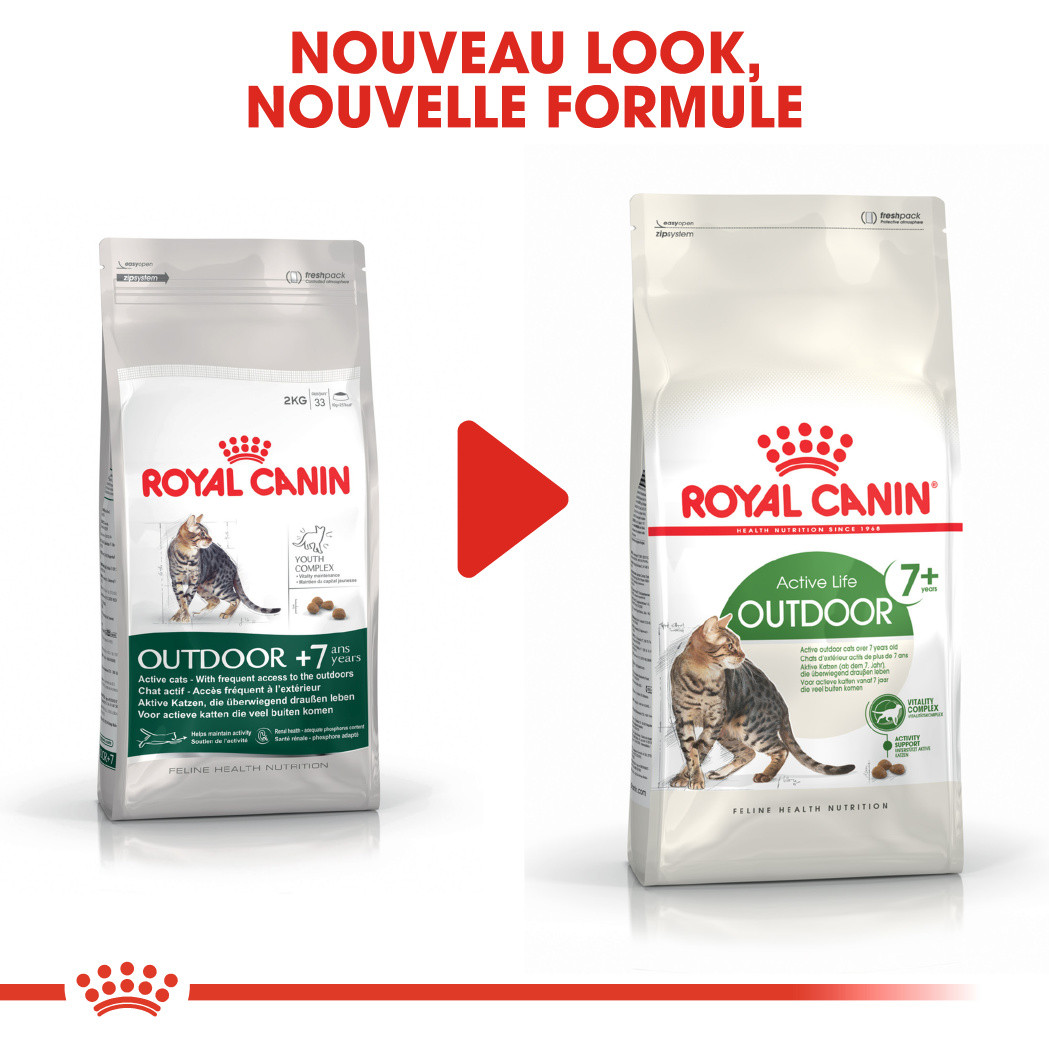 Royal Canin Chat Outdoor 7+