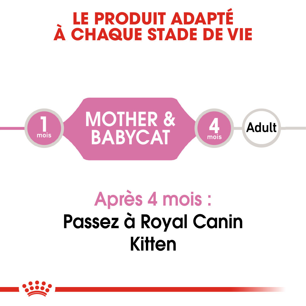 Royal Canin Mother & Babycat Mousse pour chat