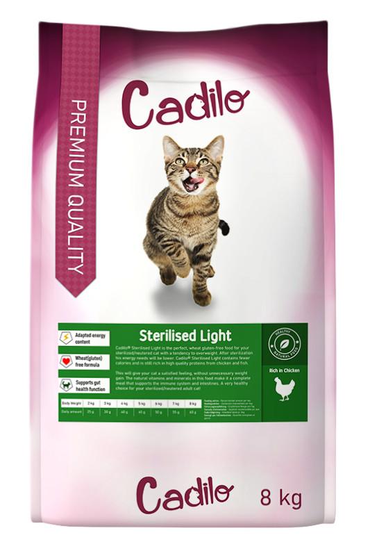 Cadilo Sterilized Light kattenvoer