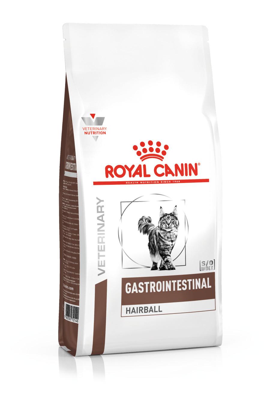Royal Canin Veterinary Diet Gastro Intestinal Hairball kattenvoer