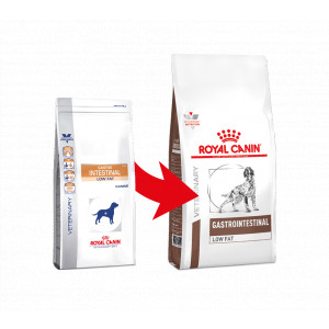 Royal Canin Veterinary Diet Gastrointestinal Low Fat pour chien