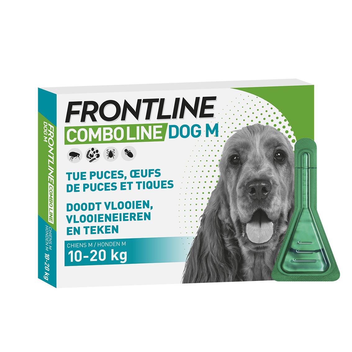 Frontline Comboline (Spot On) pour chien M