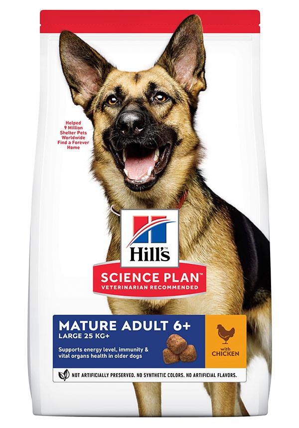 Hill's Mature Adult Large Breed au poulet pour chien