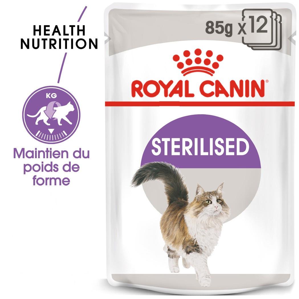 Royal Canin Sterilised pâtée pour chat 12x