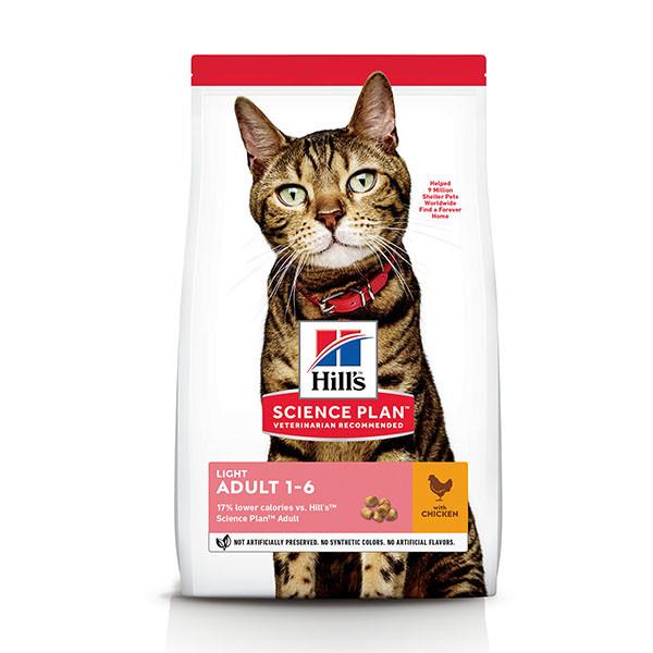 Hill's Adult Kip Light kattenvoer