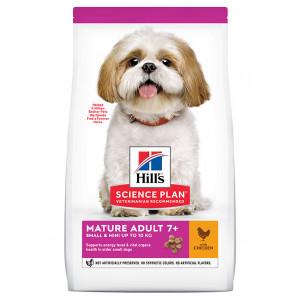 Hill's Mature/Senior Small & Mini Breed poulet pour chien