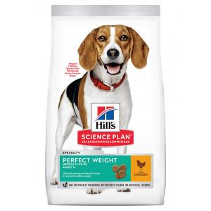 Hill's Adult Perfect Weight Medium au poulet pour chien
