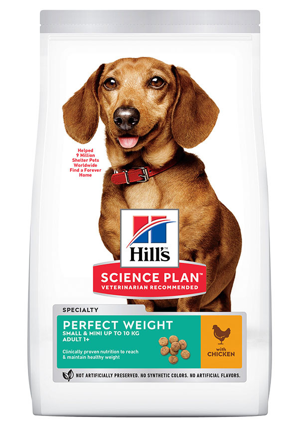 Hill's Adult Mini Perfect Weight pour chien