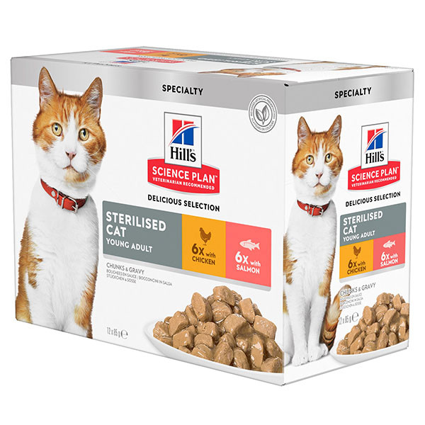 Hill's Sterilised Young Adult Sachet pour Chat
