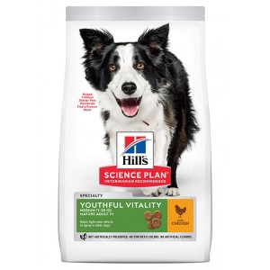 Hill's Adult 7+ Youthful Vitality Medium au poulet pour chien